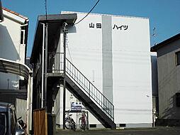 静岡県静岡市駿河区登呂5丁目の賃貸アパートの外観
