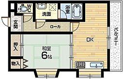 富士第二ビル[3階]の間取り
