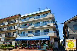 千葉県松戸市三矢小台4の賃貸マンションの外観