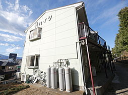 神奈川県伊勢原市石田の賃貸アパートの外観