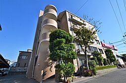 大阪府松原市三宅中2丁目の賃貸マンションの外観