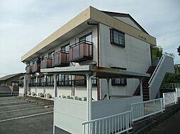 愛知県みよし市黒笹町桐山の賃貸アパートの外観