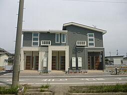 滋賀県愛知郡愛荘町川久保の賃貸アパートの外観