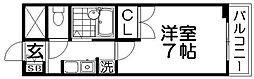 メルベーユTハイツ[2階]の間取り
