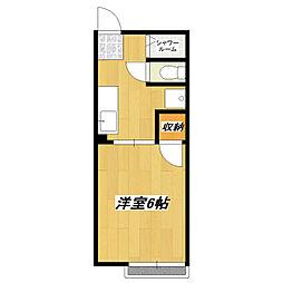 メゾンMIC[1階]の間取り