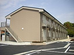 愛知県小牧市大字西之島の賃貸アパートの外観