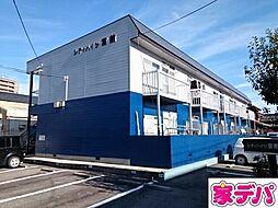 愛知県蒲郡市御幸町の賃貸アパートの外観