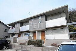 京都府京都市左京区下鴨北茶ノ木町の賃貸アパートの外観
