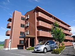 滋賀県彦根市東沼波町の賃貸マンションの外観