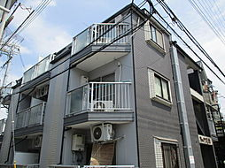 大阪府大阪市東淀川区上新庄2丁目の賃貸マンションの外観