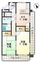 三陽ビル[5階]の間取り