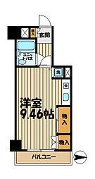 ペルソナージュ横浜[4階]の間取り