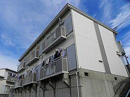 大阪府豊中市上野西3丁目の賃貸アパートの外観