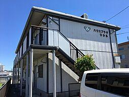 愛知県岡崎市鴨田町字北浦の賃貸アパートの外観