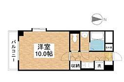 シティガーデンオオヤマ[501号室]の間取り