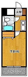 メゾン・ド・祇園[704号室]の間取り