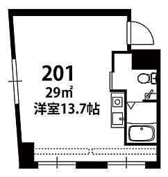 博多ステーションタワー[201号室]の間取り
