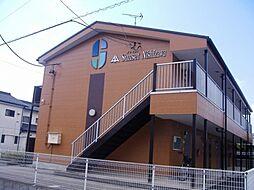 岐阜県各務原市蘇原沢上町2丁目の賃貸アパートの外観