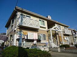 滋賀県彦根市中藪町の賃貸アパートの外観
