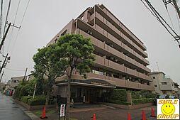 千葉県市川市東大和田2丁目の賃貸マンションの外観