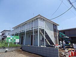 埼玉県狭山市大字水野の賃貸アパートの外観