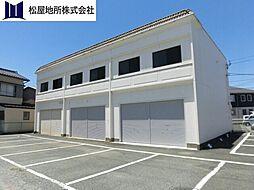 愛知県豊橋市柱二番町の賃貸アパートの外観