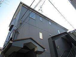 東京都品川区戸越5丁目の賃貸アパートの外観