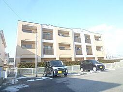 滋賀県東近江市東沖野1の賃貸マンションの外観