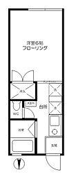モンドミュール桜[2階]の間取り
