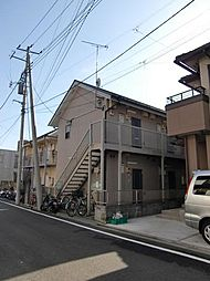東京都八王子市中野山王1丁目の賃貸アパートの外観