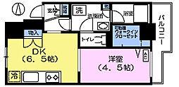 エターナル桜台[4階]の間取り