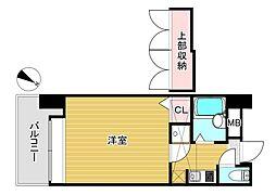エステート・モア・舞鶴[6階]の間取り