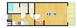第116新井ビル[303号室]の間取り
