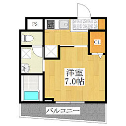 シャ レコルテ[2階]の間取り