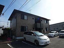 福岡県糸島市神在の賃貸アパートの外観