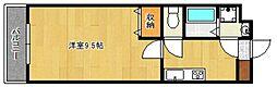 ピュアクローネII[101号室]の間取り