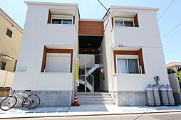 神奈川県平塚市袖ケ浜の賃貸アパートの外観
