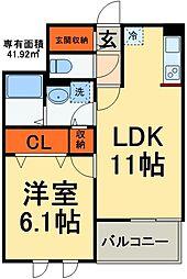 JR総武線 稲毛駅 バス20分 京葉自動車教習所入口下車 徒歩3分の賃貸マンション 4階1LDKの間取り
