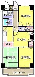 ドエルムラタ[4階]の間取り