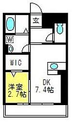 Charon[303号室]の間取り