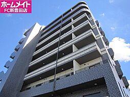 愛知県豊田市東新町2丁目の賃貸マンションの外観