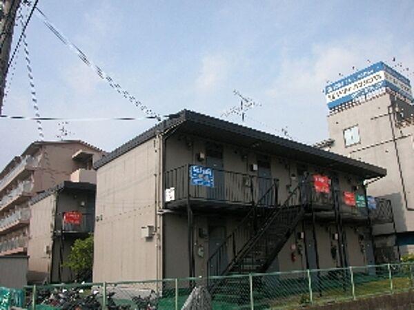 ハイツ山本B棟[2階]の外観
