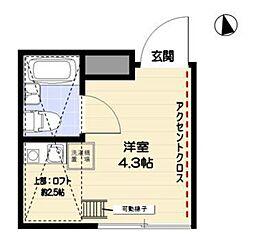 R−STYLE竹ノ塚 2nd[201号室]の間取り