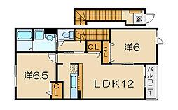 パインビレッジ90[2階]の間取り