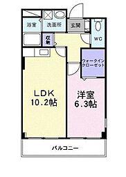 泉北高速鉄道 泉ヶ丘駅 徒歩22分の賃貸マンション 1階1LDKの間取り