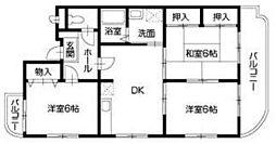 ガーデンヒルズ藍住II[3階]の間取り