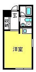 埼玉県さいたま市大宮区桜木町3丁目の賃貸マンションの間取り