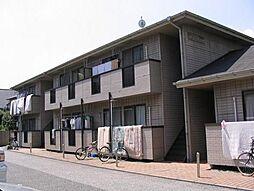 東京都大田区本羽田3丁目の賃貸アパートの外観