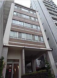 東京都港区三田3丁目の賃貸マンションの外観