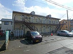 栃木県宇都宮市錦3丁目の賃貸アパートの外観